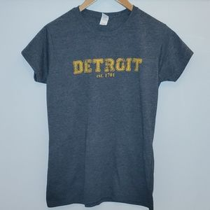 Detroit est. 1701 Gray T-shirt